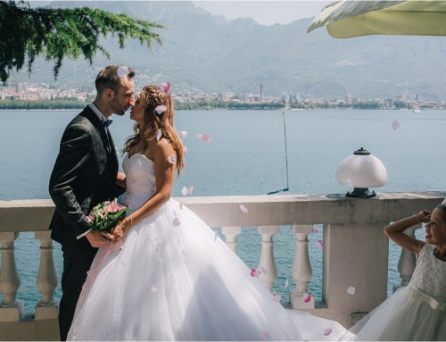 Matrimonio intimo sul Lago di Lecco // Villa Giulia